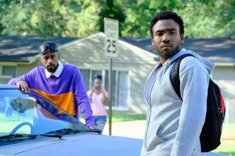 Donald Glover and Lakeith Stanfield in 'Atlanta.' (FX)